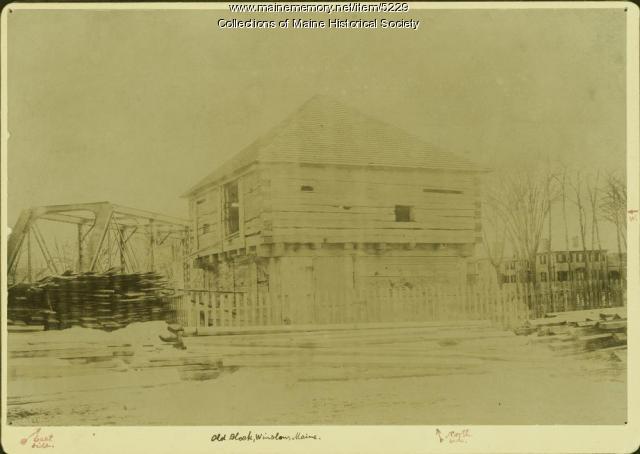 Old Block, Winslow, ca. 1920