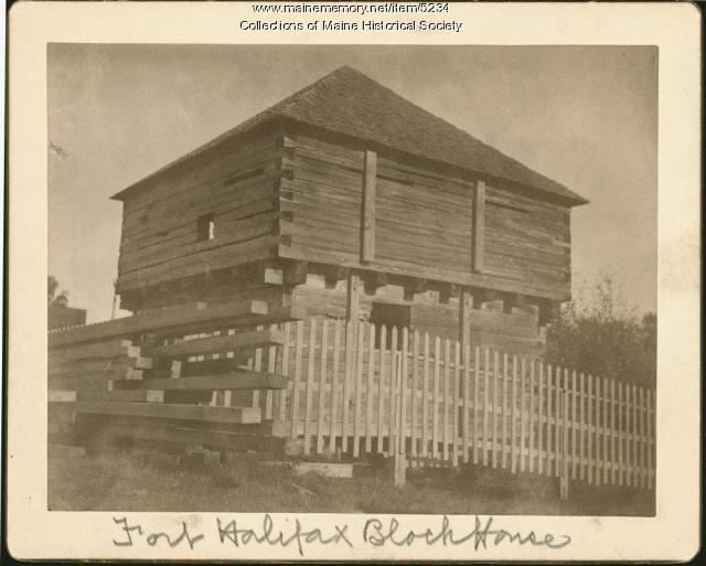 Fort Halifax Block House
