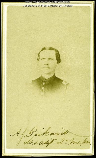 A.J. Pickard, Rockland, ca. 1864