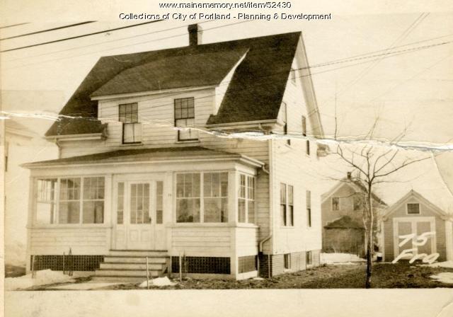 69-75 Frances Street, Portland, 1924
