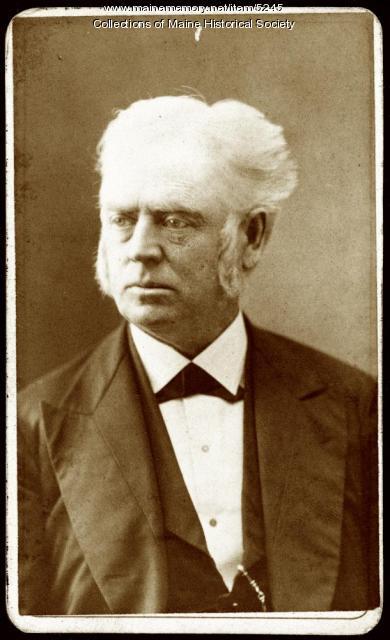 Chaplain Uriah Balkham, Lewiston, ca. 1860