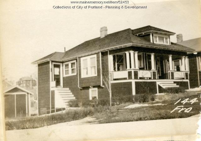 144 Frances Street, Portland, 1924