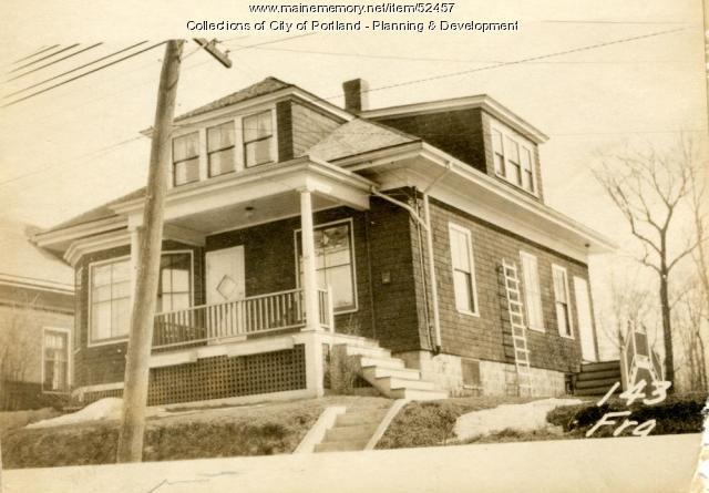 143 Frances Street, Portland, 1924