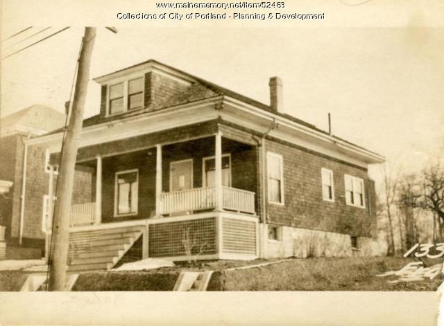 133 Frances Street, Portland, 1924