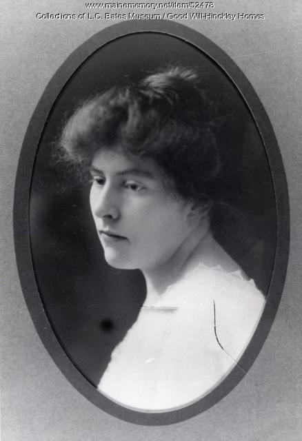 Faith Jayne Hinckley, Fairfield, 1908