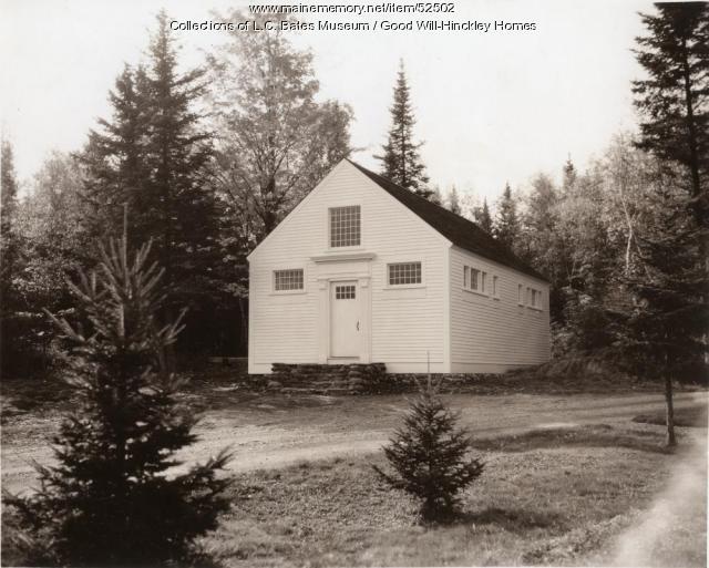 Jaehne Shell House, Fairfield, ca. 1938