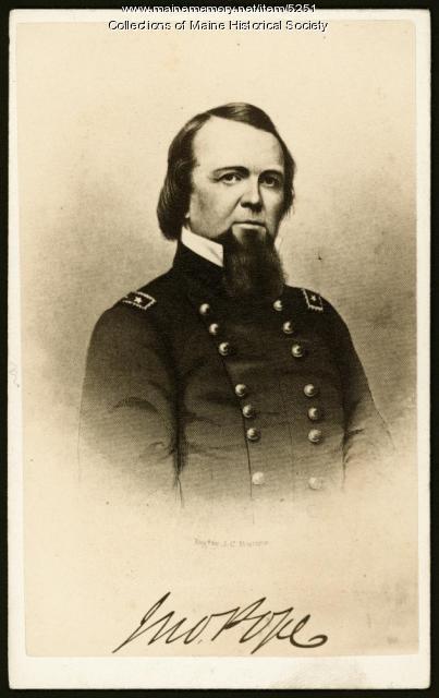 Gen. John Pope, 1862