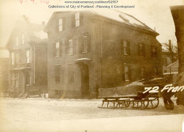70 Franklin Street, Portland, 1924