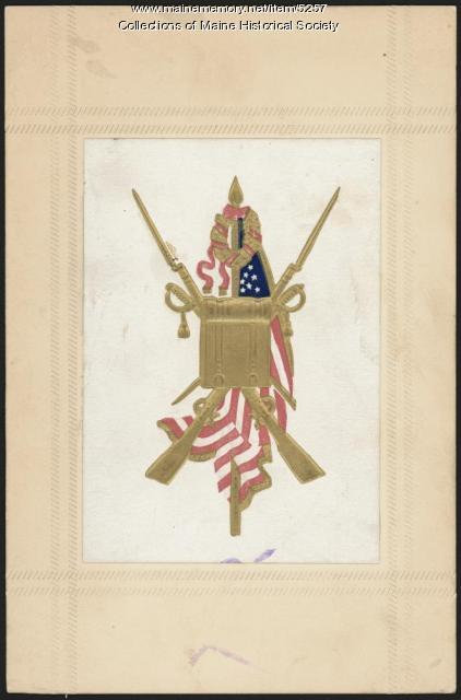 Civil War emblem, ca. 1865