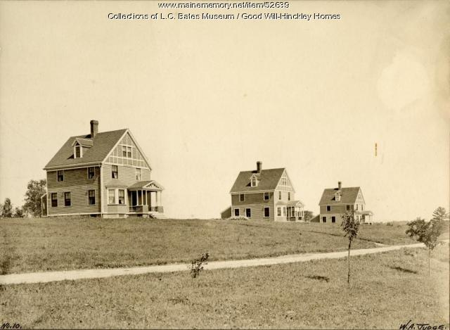 Faculty Row, Fairfield, ca. 1935