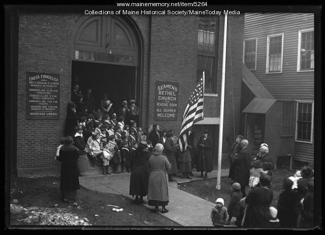 Seamen's Bethel Church, Portland, ca. 1920