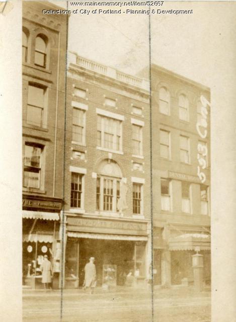557 Congress Street, Portland, 1924