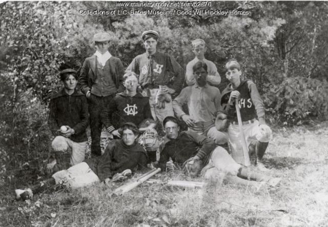 Good Will Youth Basketball Team, Fairfield, 1900