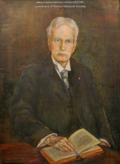 Henry S. Burrage, ca. 1927