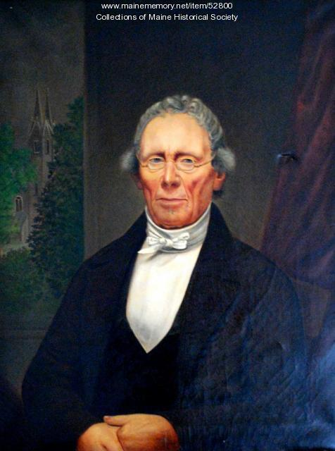 Parker Cleaveland, Brunswick, ca. 1855