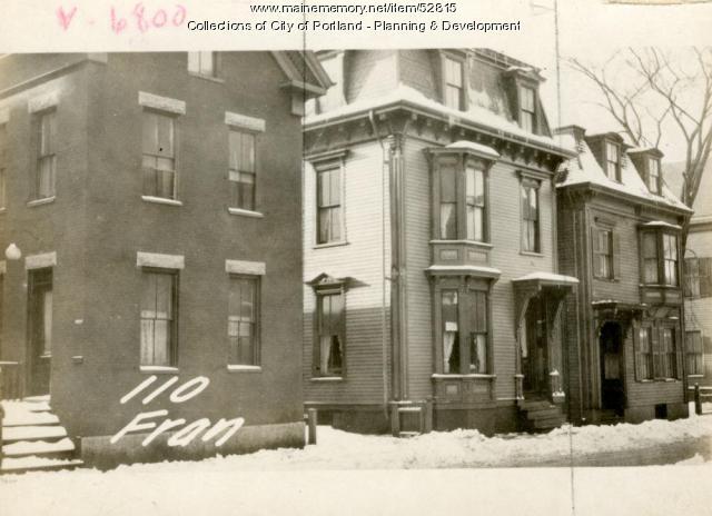 110 Franklin Street, Portland, 1924