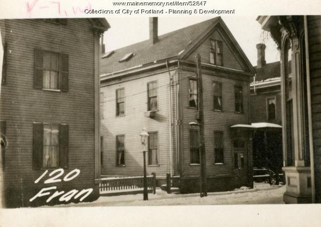 120 Franklin Street, Portland, 1924