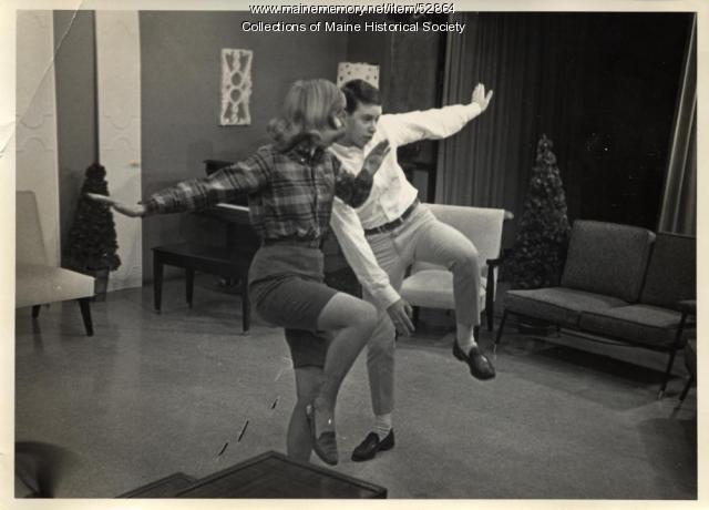 Doing the twist, Portland, ca. 1962
