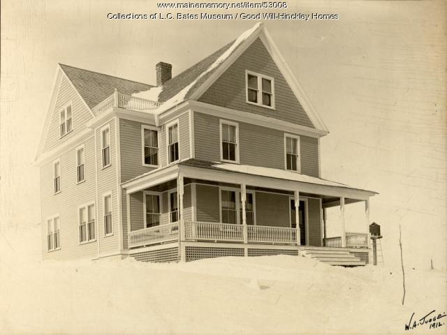 Grange Cottage, Fairfield, 1912