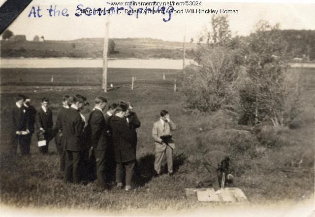 Senior Spring, Fairfield, 1920