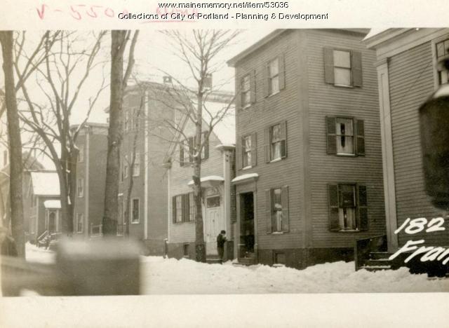 182 Franklin Street, Portland, 1924