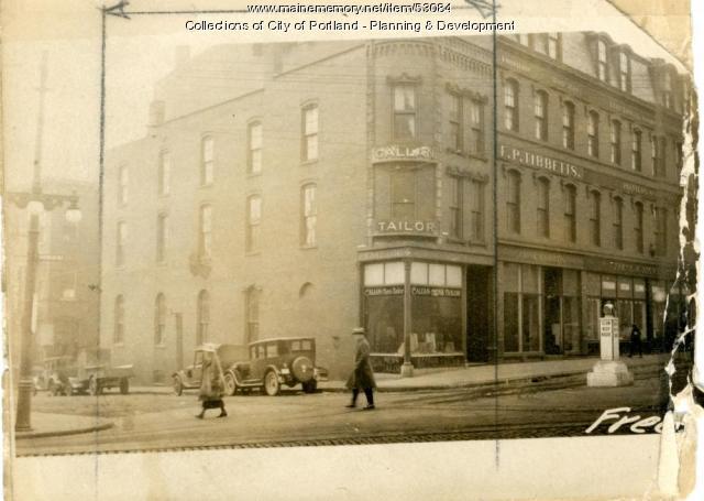 104-110 Free Street, Portland, 1924