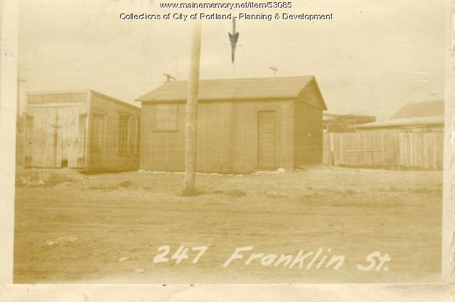 247 Franklin Street, Portland, 1924