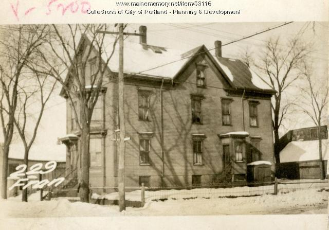 227-233 Franklin Street, Portland, 1924