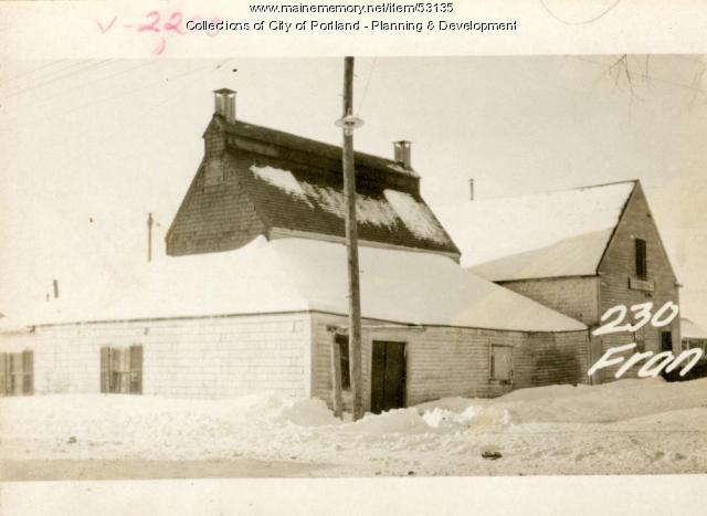 228-234 Franklin Street, Portland, 1924