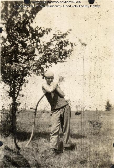 Ed Danelson, Fairfield, ca. 1917