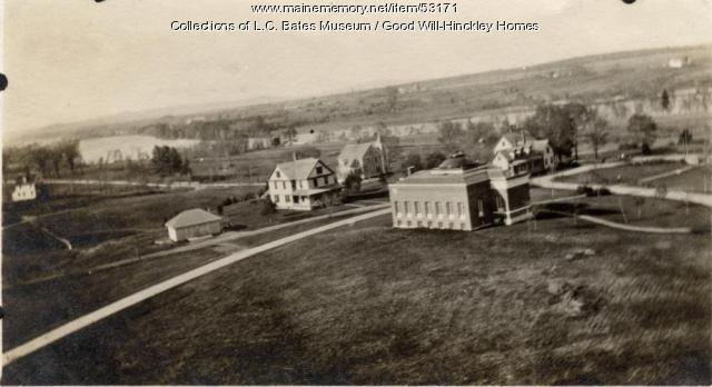 View north from the Prescott Building, Fairfield, ca. 1920