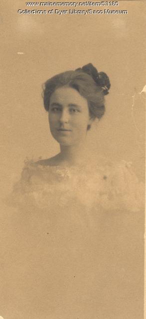 Adelaide E. Sweetser, 1900