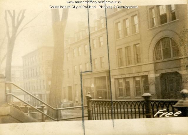 64 Free Street, Portland, 1924