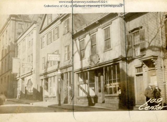 109 Center Street, Portland, 1924
