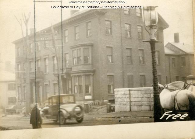 84 Free Street, Portland, 1924