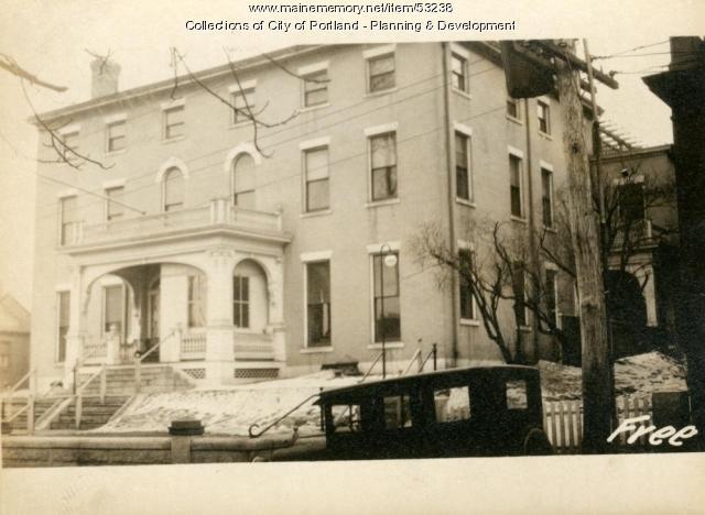 90-96 Free Street, Portland, 1924