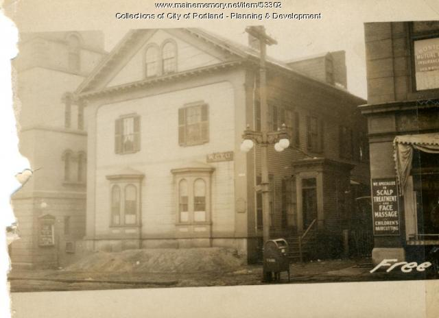 148-150 Free Street, Portland, 1924