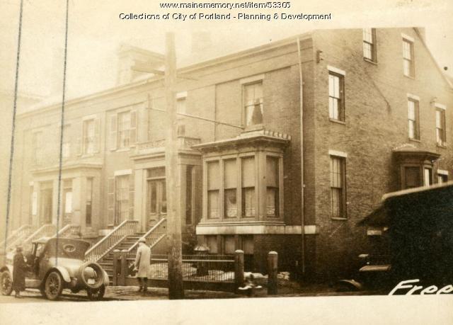 126 Free Street, Portland, 1924