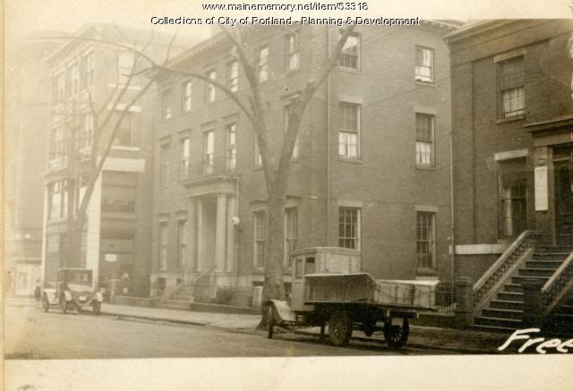 120-124 Free Street, Portland, 1924