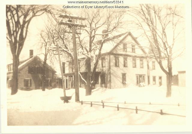 James G. C. Smith residence, Biddeford, 1920