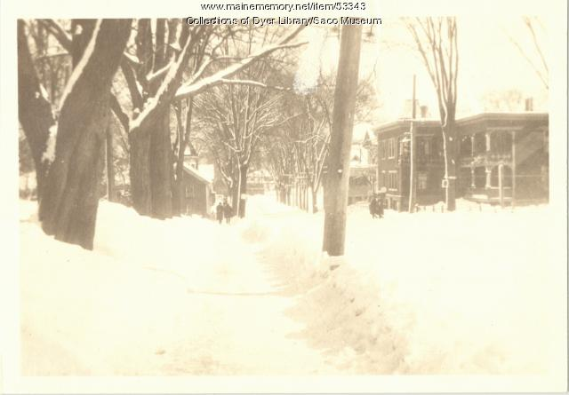 South Street, Biddeford, 1920