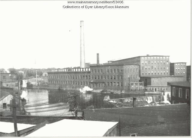 Pepperell Mill, Biddeford, ca. 1930