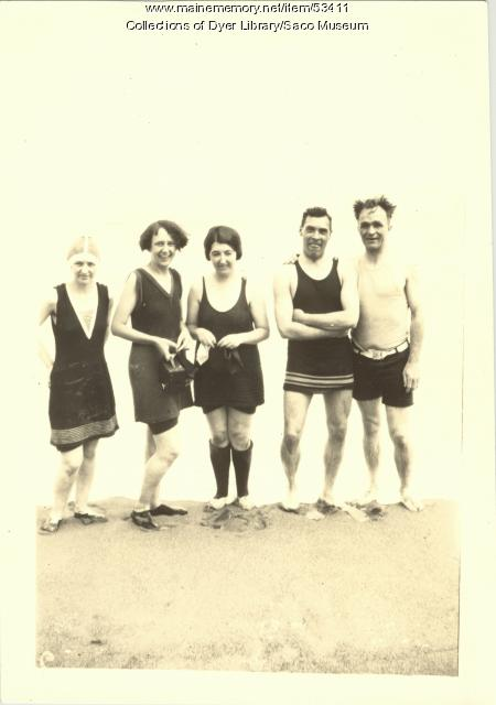 Esther Booth, Saco, ca. 1919