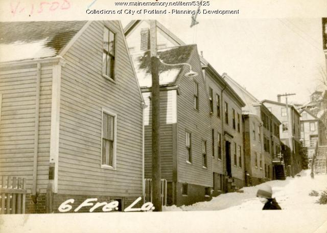 14 Freeman Lane (called #6), Portland, 1924
