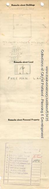 7-9 Freeman Lane (called #3), Portland, 1924