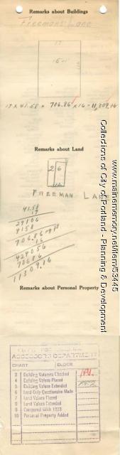 12 Freeman Lane (called #4), Portland, 1924