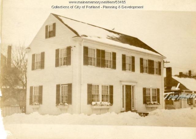 17 Freeman Street, Portland, 1924