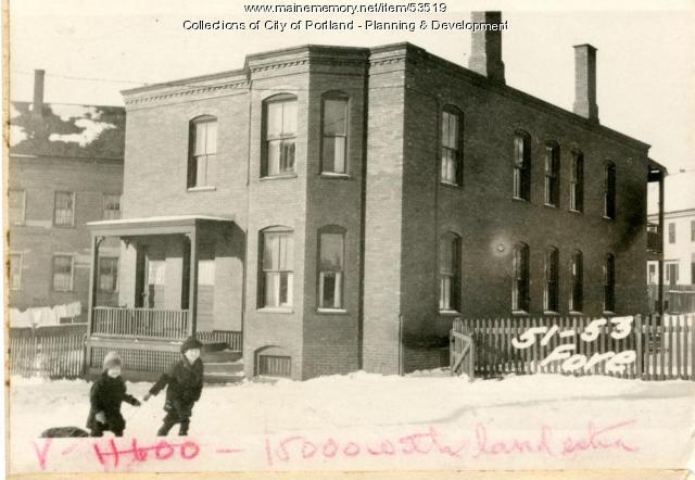 47-57 Fore Street, Portland, 1924