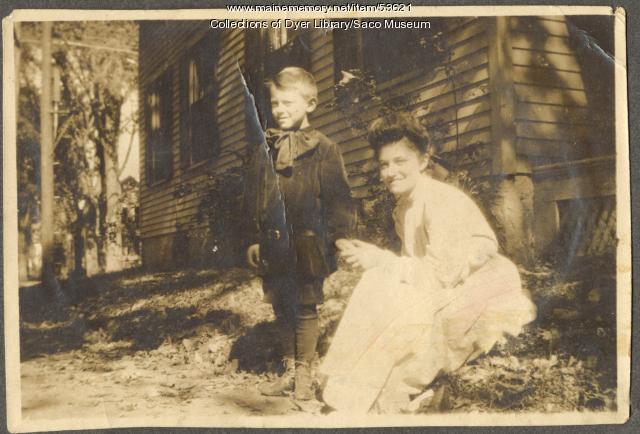 Mae & Clinton Milliken, Saco, ca. 1900