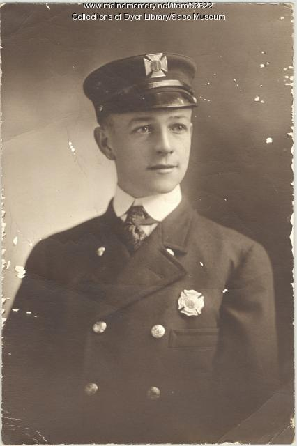Captain Eugene T. Ricker, Biddeford, ca. 1926